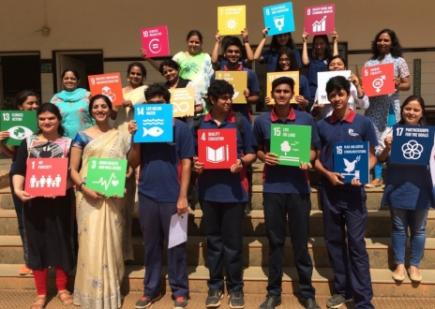 Mission Possible: India Students Gain Empathy While Contributing to the SDGs