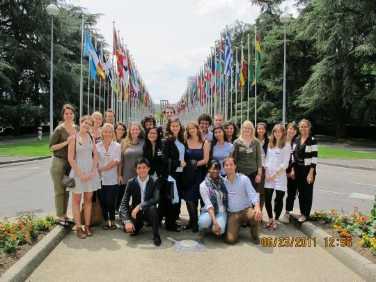 Gallery: WFUNA Human Rights Youth Training - 21-24 June 2011