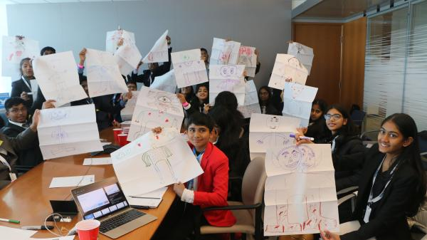 Students participate in the Agents of Change Conference in February 2020.