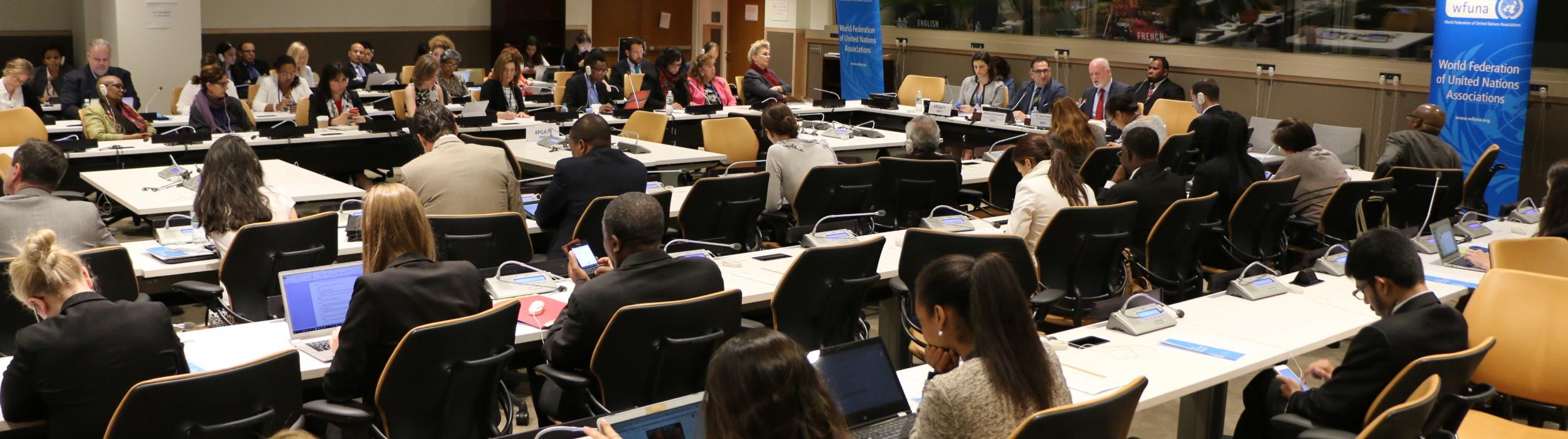 Civil Society Dialogues at the UN
